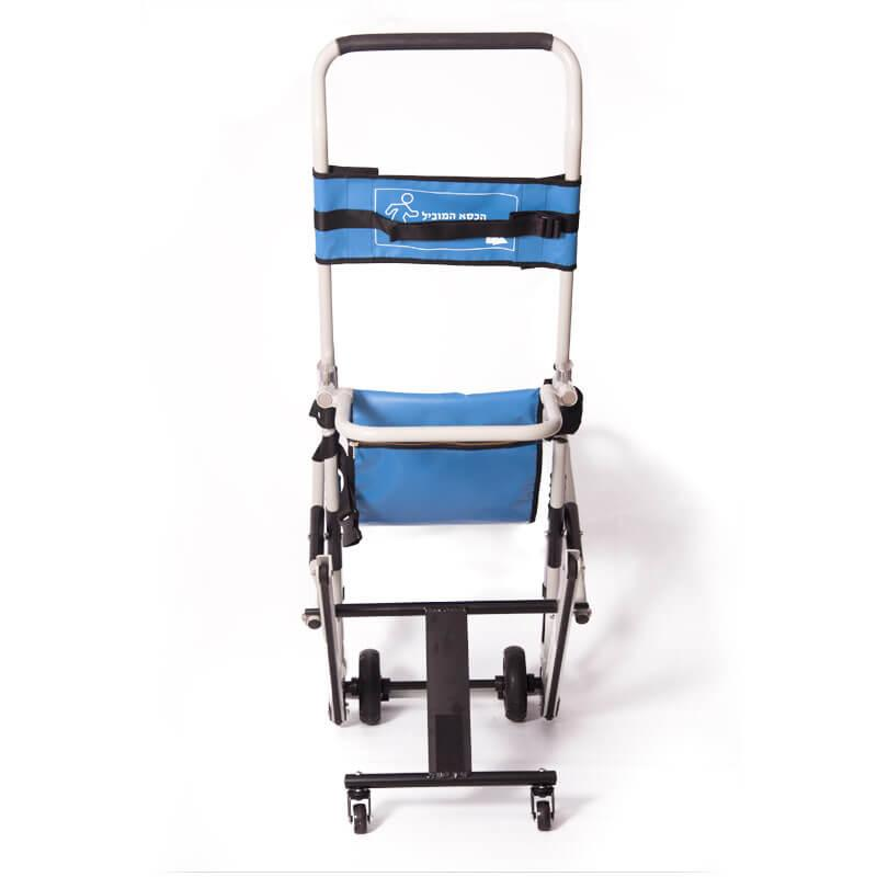 Evacuation and rescue chair |view from behind