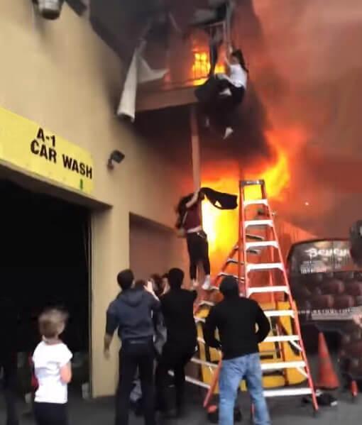 הימלטות בשעת שריפה