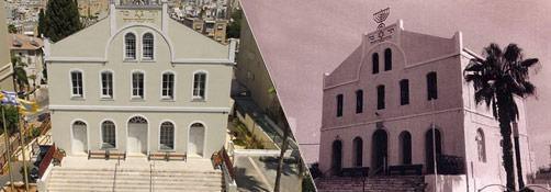להפוך את בית הכנסת למבנה נגיש לקשישים