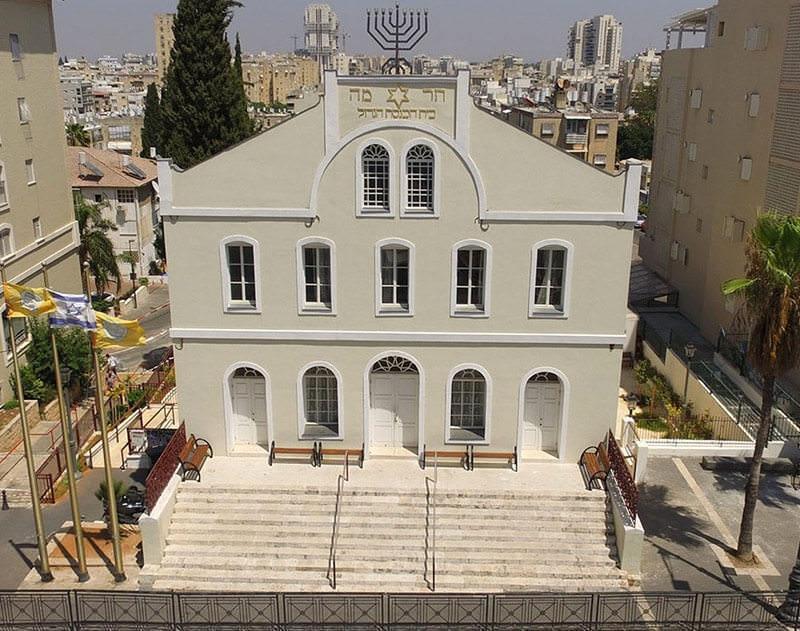 בית הכנסת הגדול בראשון לציון לאחר עבודת השימור