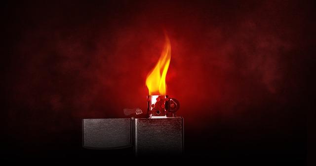 שריפות נגרמות בעת משחק ילדים